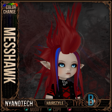 Nyanotech Hair [Type B] - Messhawk V3